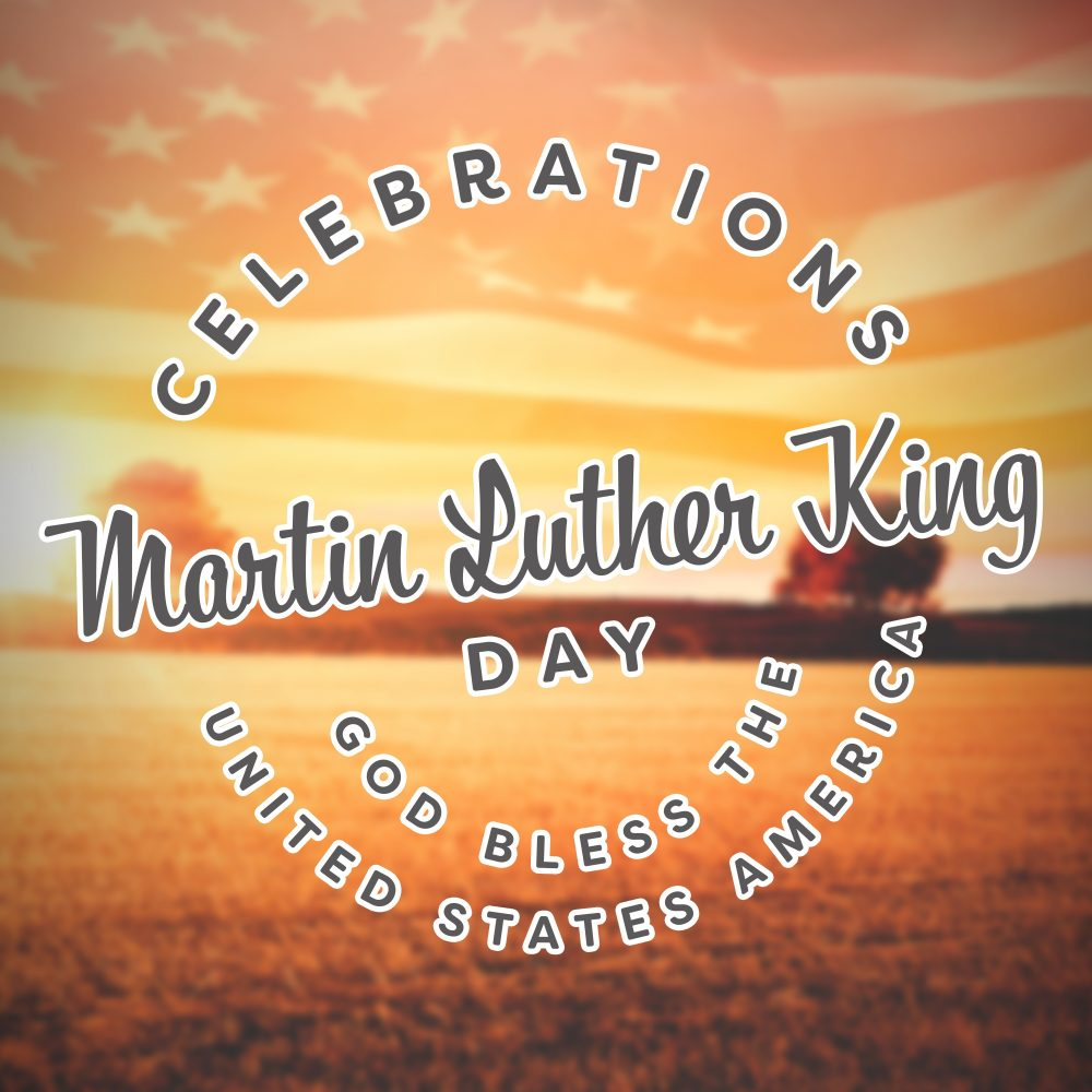 Composite image of Martin Luther King Day
