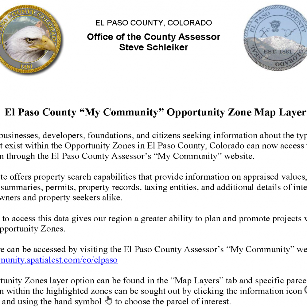 My Community Opportunity Zones